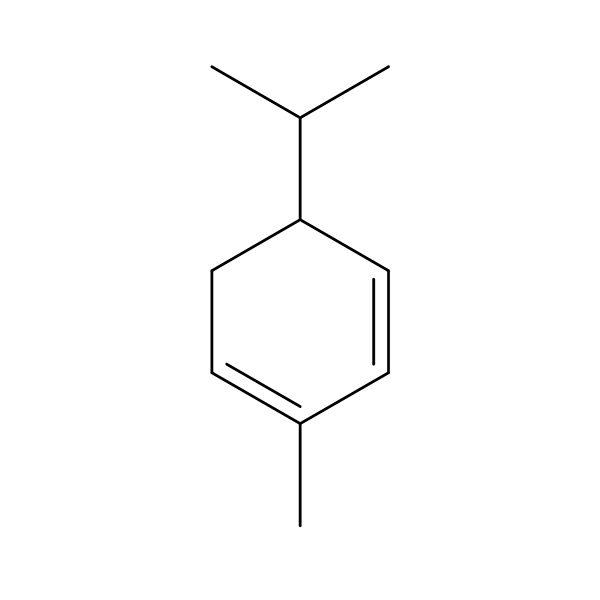 Alpha-Phellandrene Terpene Molecule