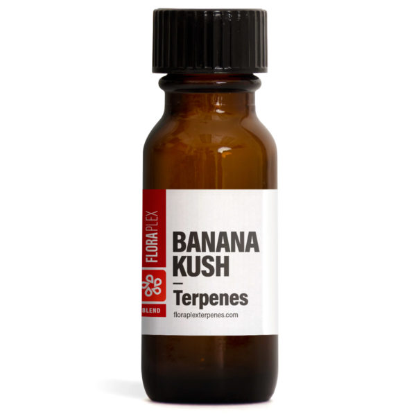 Banana Kush Terpenes Blend - Floraplex 15ml Bottle