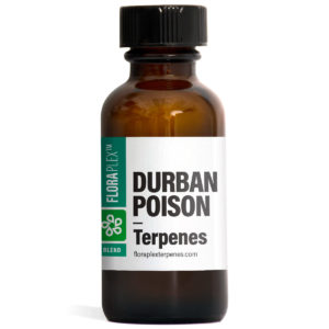 Durban Poison Terpenes Blend - Floraplex 30ml Bottle