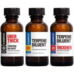 Diluent and Liquefier • Reduce Viscosity • Floraplex Terpenes