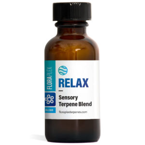 Relax Terpene Sensory Blend - Floraplex 30ml Bottle