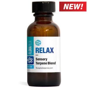 Relax Terpene Sensory Blend - Floraplex 30ml Bottle